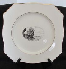 "THE ROCKS HOPEWELL CAPE NEW BRUNSWICK ROYAL WINTON 8 3/4"" PLATE SOUVENIR"