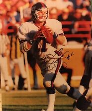 PHIL SIMMS AUTOGRAPHED NEW YORK GIANTS 8X10 PHOTO W/ COA!!!