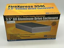 "Addlogix FireXpress 350L Metal External Enclosure - 3.5"" IDE HDD to USB2.0 FW400"