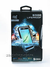 LifeProof fre Samsung Galaxy S7 Waterproof shockProof hard Case Black/Gray NEW
