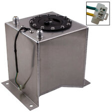 Universal 2.5 Gallon Fuel Cell Tank Lightweight Aluminum with fuel sensor