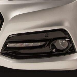 2016 2017 Chevrolet SS GM Front Fog Light Bezel Kit Phantom Black 92276995