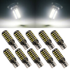 10Pcs Canbus Error Free T10 White 3014 48SMD LED Car Side Wedge Light Lamp Bulbs