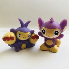 Aipom & Ambipom Pokemon Nintendo Bandai 2 Toy Figures Vtg Set a