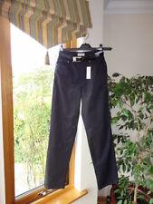 Noir Pantalon De La Strada, taille UK 10, EU36, RRP £ 68 Neuf avec étiquettes
