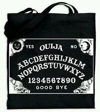 Ouija Board Horror Cult Black Cotton Tote Bag - Carry All Purse Book  Bag