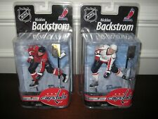 MCFARLANE NHL 25 NICKLAS BACKSTROM CHASE WHITE COLLECTOR LEVEL #451/1000 LOT