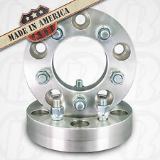 "USA MADE 5 x 5.5"" (139.7mm) To 5 Lug 4.5"" (114.3mm) Wheel Adapters 1.25"" Spacers"