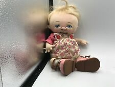 "Jan Shackelford Baby Doll ""Sweat Pea "" Sheridan  12"" 2008 Cloth Baby Doll"