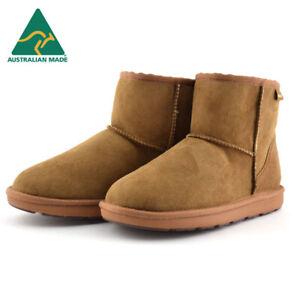 Mubo UGG Classic Mini Sheepskin Boots - Chestnut (Australian Made)