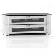 Gloss White TV Cabinet Gecko Opal OPA1200-GW LCD LED Stand Unit Plasma OPA1200GW
