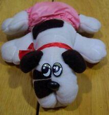 Pound Puppies PUPPY W/ PINK DIAPER Plush Stuffed Animal