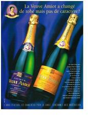 PUBLICITE ADVERTISING  2003   VEUVE AMIOT  Saumur  méthode champenoise vins