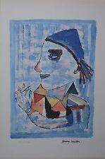 "Henry Miller  Centennial Collection ""The Joker"" S/N Mixed Media on Paper + COA"