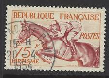 FRANCE # 705  Used  EQUESTRIAN HORSE