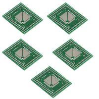 5/10/20Pcs LQFP/TQFP 32/44/64/80/100 PCB DIP Adapter Converter Board 0.5/0.8mm