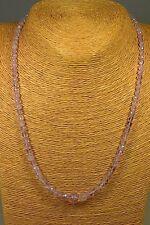 MORGANIT KETTE COLLIER 80,90ct rosa Beryll Edelstein Schmuck Heilstein Halskette