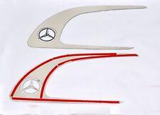 Mercedes Benz Actros MP4 Door Handle Frame Super Polished Stainless Steel 2 Pcs