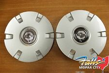 2004 - 2006 Chrysler Pacifica Silver Wheel Center Cap Set of Two Mopar OEM