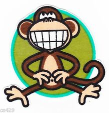 "3"" BOBBY JACK MONKEY TEXT ME SMILING WALL SAFE FABRIC DECAL CHARACTER CUT OUT"