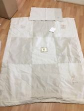 Izziwotnot Pitter Patter Tiny Toes Duvet Pillowcase Suitable Cot/toddler Bed New