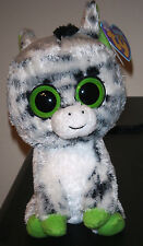"Ty Beanie Boos ~ ZIG-ZAG 6"" Zebra (2012 Tags) ~ NEW with MINT TAGS ~ RETIRED"
