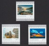 FROM FAR AND WIDE =  Set of 3 Coil/Roll stamps MNH-VF Canada 2019