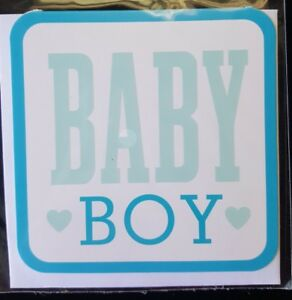 Hallmark: Baby Boy Gift Tag With Envelope