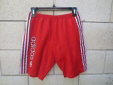 Short cuissard ADIDAS vintage rouge Trefoil odschool années 80 G L