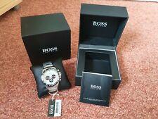 Hugo Boss 1512964 Ikon Stainless Steel White - Black Mens Chronograph Watch