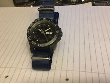 TRASER H3 SHADOW QUARTZ 200M DIVERS-P.V.D COATED ST STEEL-NEAR MINT-IN F.W.O