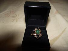 Franklin Mint (FM) Faberge Twilight Jewels of Winter ring