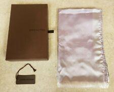 Louis Vuitton Monogram Mauve/Silver Scarf Pre-owned w/ Original Box
