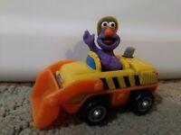 2001 Mattel 3 In Sesame Workshop Sesame Street Grover Bulldozer Car Ships Free