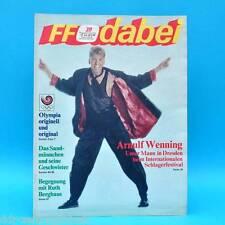 DDR FF-Dabei 39-1988 / 19.-25.09. Zeitschrift - Sandmann G. Philipe Tina Turner