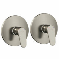Pulse ShowerSpas Tru Temp 0.5-Inch Rough In Valve, Brushed Nickel (2 Pack)