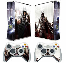 Assassin X37  Vinyl Decal Skin Sticker for Xbox360 slim and 2 controller skins