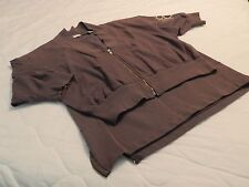 Vintage HEROIC Esprit Sportswear Charcoal Gray Two Piece Junior's Outfit Size M
