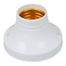 10pcs E27 Socket Plastic Light Lamp Holder Base AC250V 6A DT