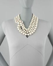 Kate Spade Belle Fleur Pearl Necklace NWT Luscious Belle Epoche Style