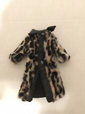 Vintage Rare Barbie Long Leopard Jacket