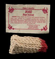 Encens nepalais tibetain cordelettes Parfum Rose Guerison depression 26612 AZ