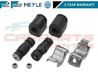 FOR RENAULT CLIO MK2 FRONT STABILISER ANTI ROLL BAR LINKS BUSHES AND CLAMPS X2