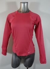 Nike women's fitness long sleeve athletic top S
