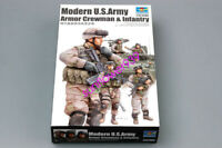 Trumpeter 1/35 00424 U.S. Armor Crewman & Infantry