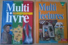 MULTILECTURES CE1 MULTILIVRE CE2 Istra éveil