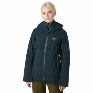 Arc'teryx Sentinel AR Jacket - Gore-Tex Ski - Enigma Navy Blue - Women's Small
