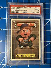 1988 Garbage Pail Kids 581a Shel Game OS15 PSA 9 Mint Die-Cut Topps Rare Card