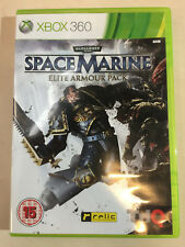 SPACE MARINE ELITE ARMOUR PACK - XBOX 360 Complete