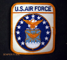 US AIR FORCE LOGO SEAL HAT PATCH USAF GIFT USA AMERICA PIN UP VETERAN EAGLE WOW